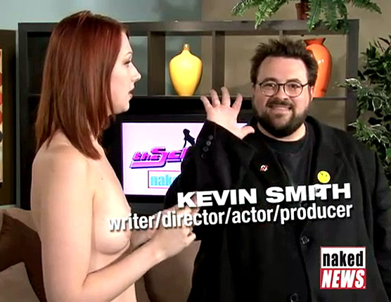 Naked News with Kevin Smith