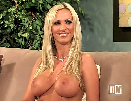 Naked Nikki Benz on Naked News