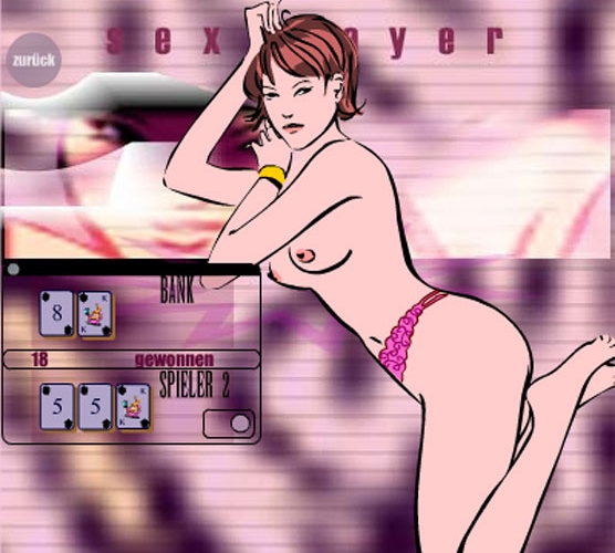 Play Comic Stripjack! The naked blackjack game!