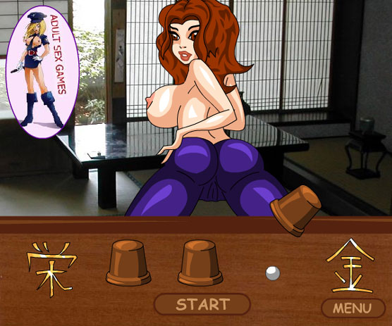 Strip the Hentai Ninja Game! Find the ball, and she gets naked!