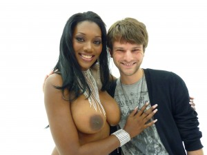 Pornstar Nyomi Banxxx with Allan Lake