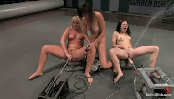 Welcome to the Squirting Olympics – Kinky female ejaculation!