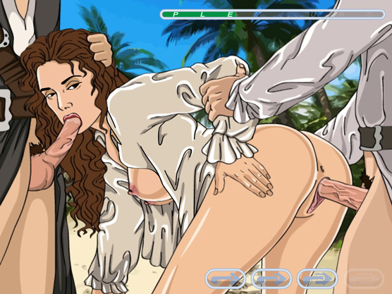 Adult Sex Game: Pirates of the Caribbean gone wild!