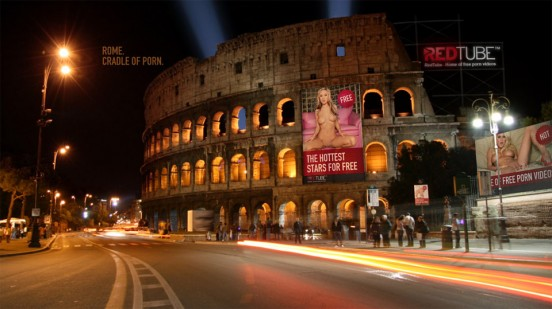 RedTube Porn Screensaver Rome