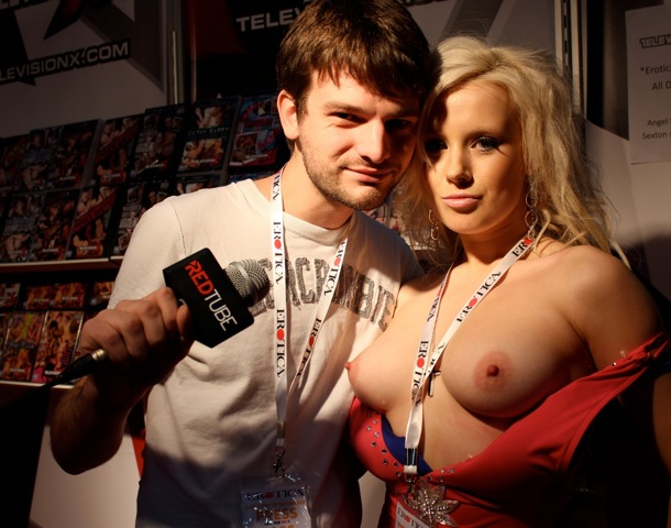 Allan with A Television X Girl