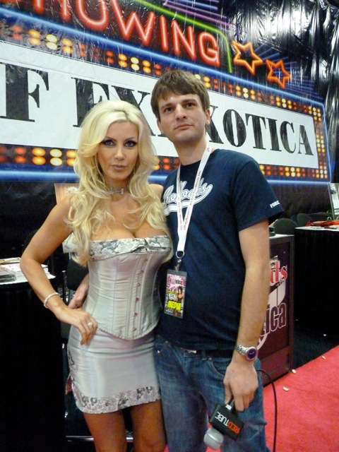 Pornstar Brittany Andrews with Allan Lake