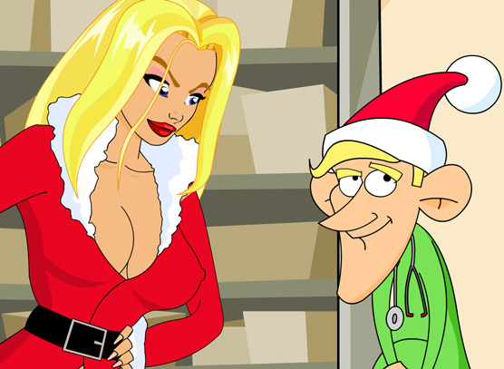 A really funny Christmas Sex Game! Even the Elves are fucking!
