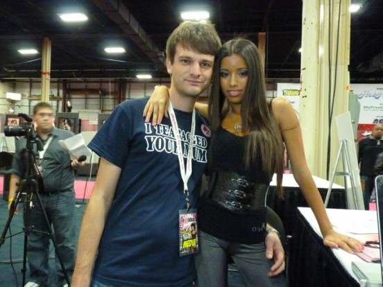 Allan Lake with Pornstar Lupe Fuentes