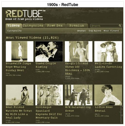 A Retro Version of RedTube