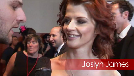 RedTube chats with Tiger Woods' mistress Joslyn James at the AVN awards!