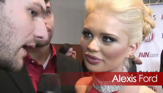 RedTube on the Red Carpet at this years AVN Awards!