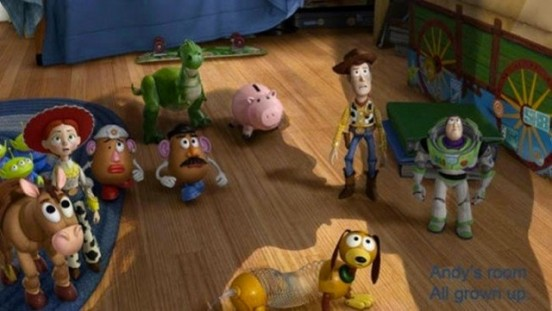 Toy Story - Andy's Room
