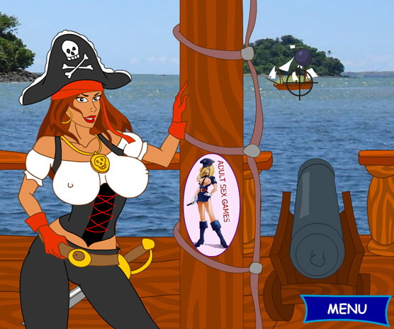 Sexy Pirate Strip – Shoot your load with your massive cannon!