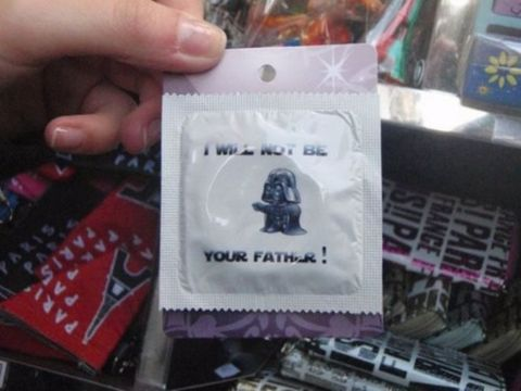 Funny Porn Pic – Luke, I will not be your father!