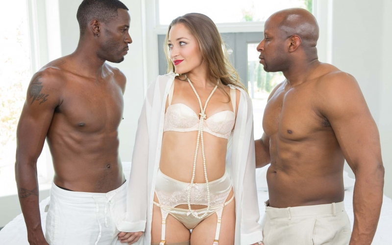 "Dani Daniels finally cums to the dark side! Blacked.com presents ""DEEPER"""