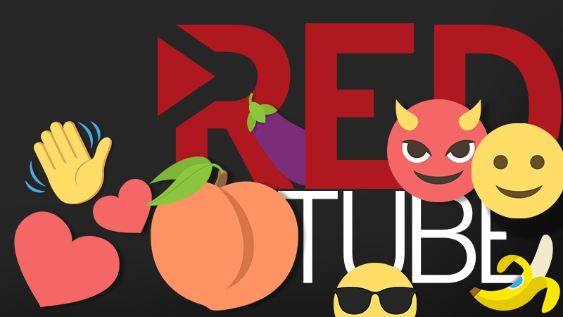 RedTube Translated for Millennials.  Introducing RedTube Emoji!