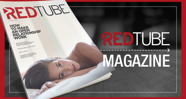Redtube magazine blog header