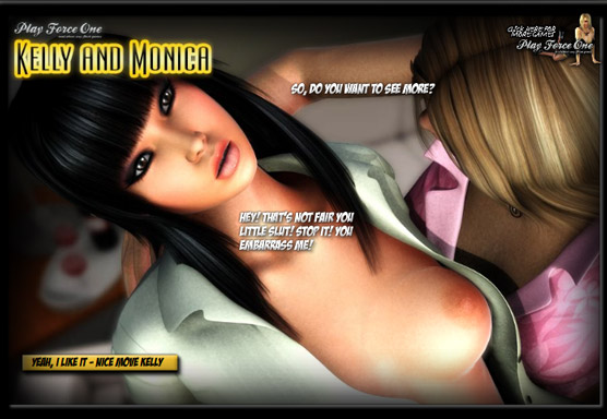 kellyandmonica The best thing about this adult sex game is how realistic ...